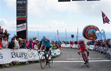 Vuelta a Burgos: Miguel Ángel López es nuevo líder de la competencia