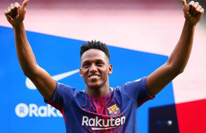 Yerry Mina: Es oficial su traspaso al Everton