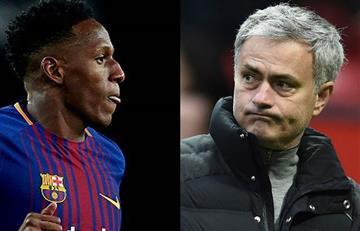 ¿Yerry Mina no fue al Manchester United por temor a Mourinho?