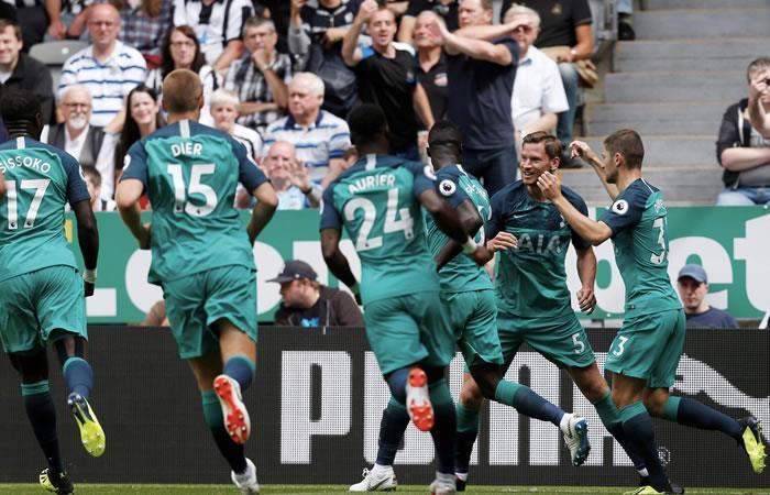 El Tottenham ganó 2-1. Foto: Twitter