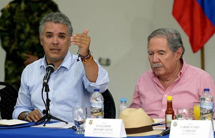 Duque ordena fortalecer seguridad en Tumaco