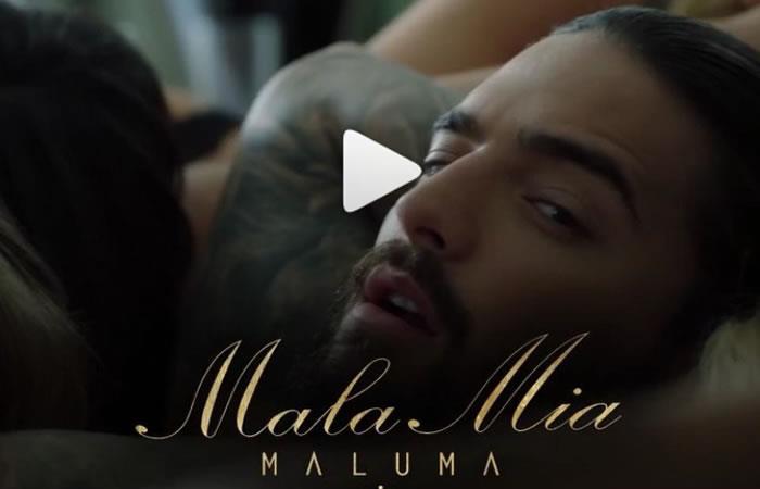 Maluma estrena el polémico vídeo de 'Mala Mía'