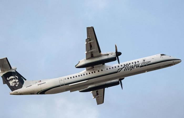 Trabajador roba avión en Seattle y se estrella