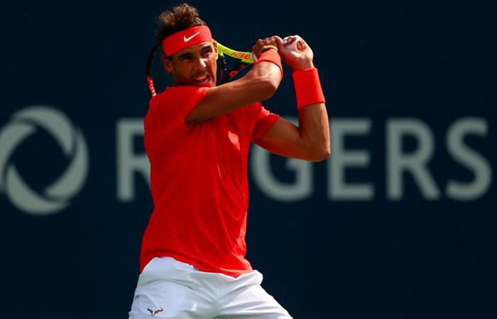 Rafael Nadal a la final de Toronto. Foto: AFP