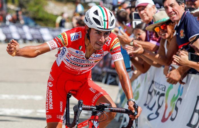 Iván Sosa es la carta de Colombia para ganar el Tour de L'Avenir 2018. Foto: EFE
