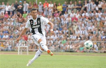 [VIDEO] Este es el primer gol de Cristiano Ronaldo con Juventus