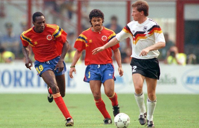 Freddy Rincón, el 'coloso' del fútbol colombiano