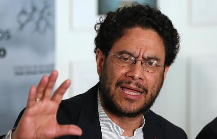Iván Cepeda interpuso una denuncia. Foto: Twitter