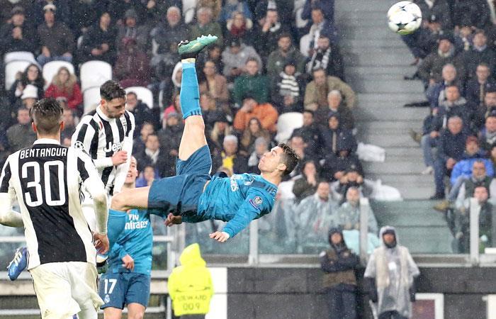 UEFA publica los nominados para elegir el mejor gol del año