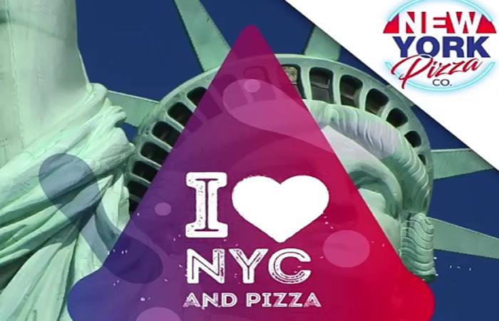 Más de 15 diferentes combinaciones en sus ingredientes son los protagonistas del menú de New York Pizza Co. Foto: Instagram