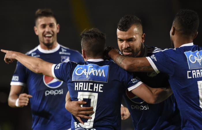 Copa Sudamericana: Millonarios golea a Gral. Díaz y se instala en octavos