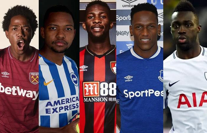 Estos son los colombianos en la Premier League en esta temporada