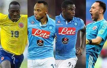 Estos son los colombianos que han vestido la camiseta del Napoli