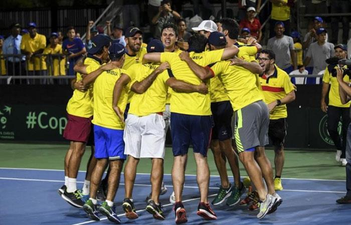 ¡Histórico! Colombia estará por primera vez en grupo Mundial de Copa Davis