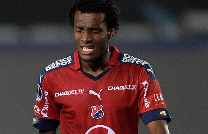Didier Moreno, jugador referente de Independiente Medellín. Foto: AFP