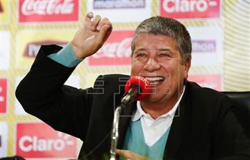 'Bolillo' Gómez, firme para llevar a Ecuador a Catar 2022