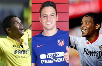 Estos son los colombianos en La Liga de España en esta temporada
