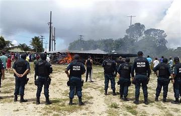 Caos por ataque a inmigrantes venezolanos en Brasil