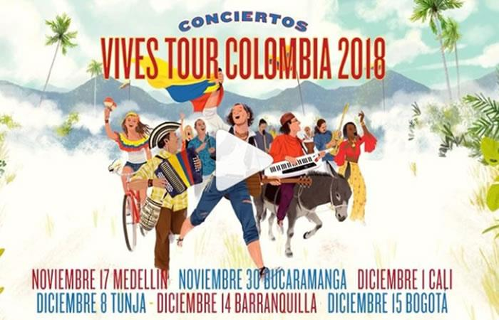 Carlos Vives: Todos los detalles de 'Vives Tour Colombia, Campaña Libertadora'
