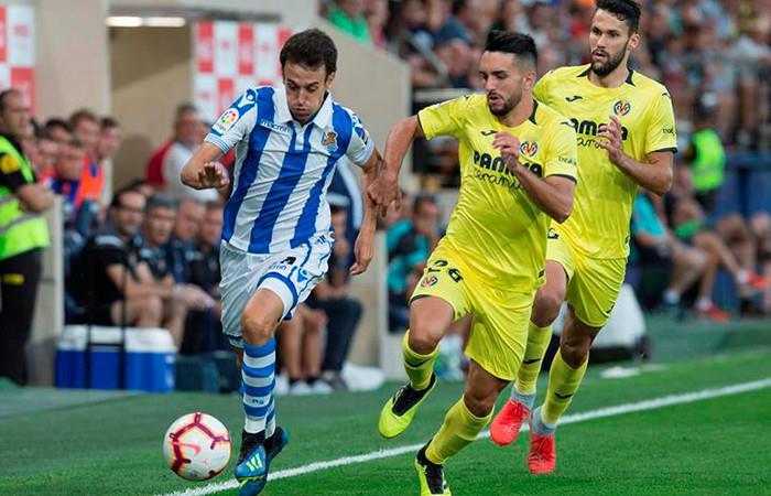El Villarreal de Carlos Bacca, tuvo dos errores que le dieron la victoria al Real Sociedad