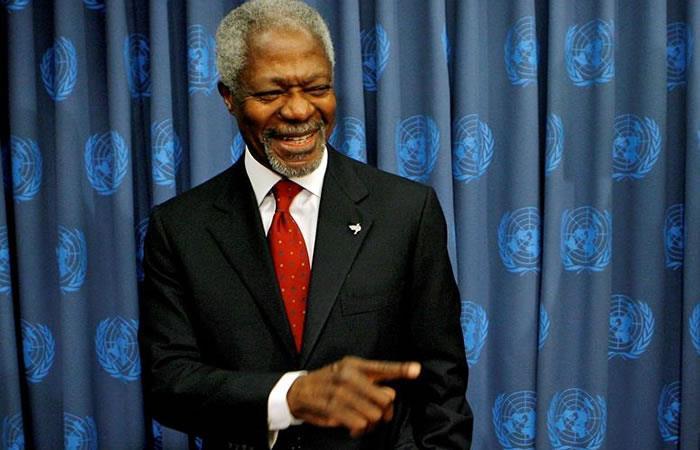 Kofi Anna deja un amplio legado de paz. Foto: EFE