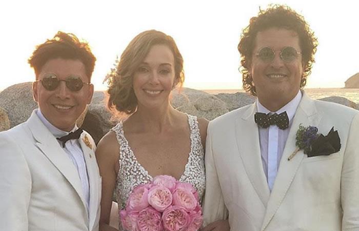 Carlos Vives y Claudia Elena Vásquez celebran 10 años de matrimonio