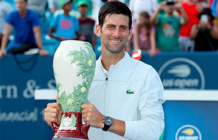 Djokovic en el sexto lugar del ATP. Foto: AFP
