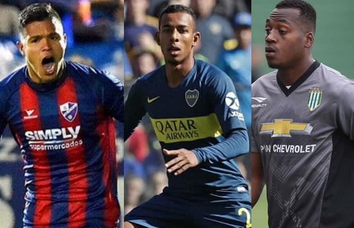 Estos son los futbolistas juveniles que hacen méritos para jugar con la selección Colombia. Fotos: AFP