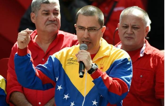 El canciller de Venezuela, Jorge Arreaza. Foto: AFP