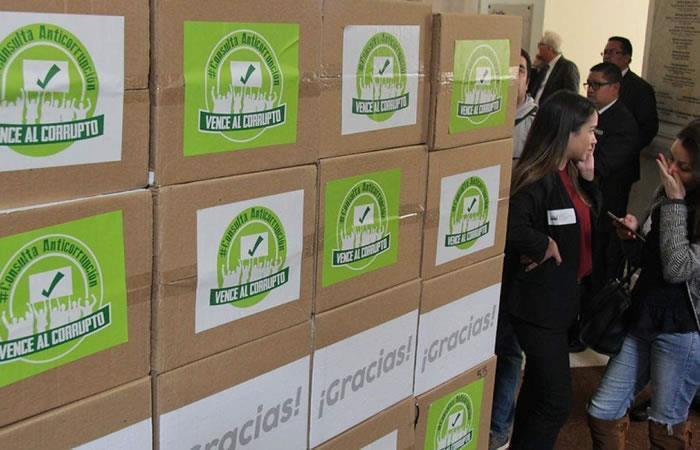 Consulta Anticorrupción: Registraduría da garantías para la votación