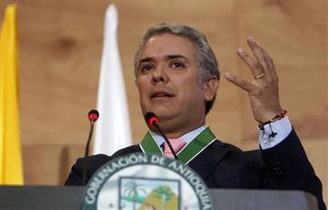 """Duque espera que """"Iván Márquez"""" y """"El Paisa"""" cumplan la ley"""