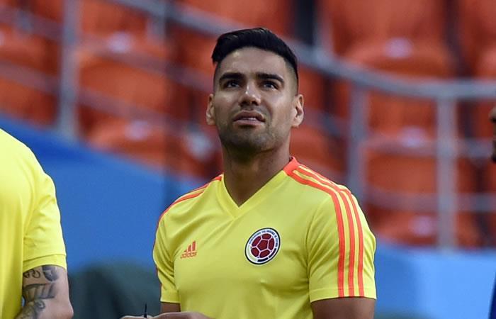 Radamel Falcao García ha recibido toda clase de comentarios por una fotografía de cuando era joven. Foto: AFP