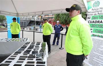 ¿Le robaron su celular? En Bogotá se realizó 'Entregatón'