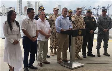 Detienen a dos cabecillas del Clan del Golfo