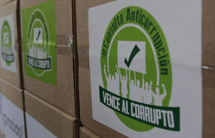 Ley seca por la Consulta Anticorrupción. Foto: EFE