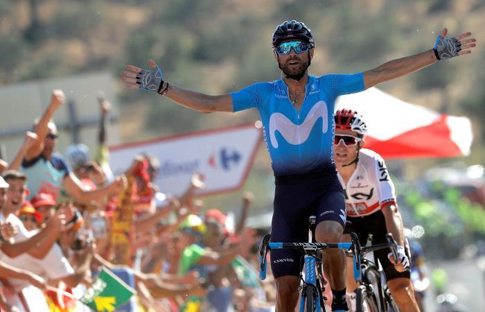 Alejandro Valverde conquista la etapa 2 de La Vuelta a España