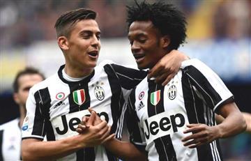 Cuadrado y Dybala se toman con humor su suplencia en la Juventus