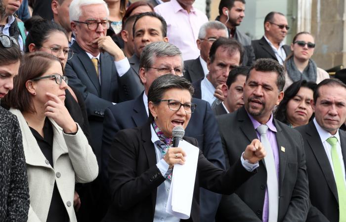 Consulta Anticorrupción: Claudia López impugnó los resultados del domingo