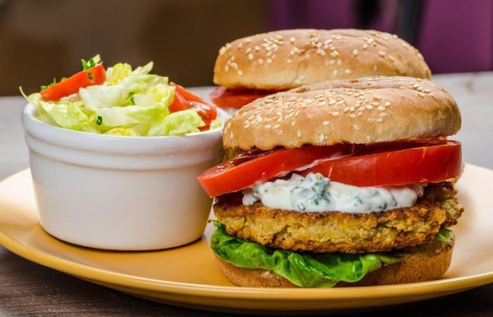 3 recetas de hamburguesas vegetarianas. Foto: Twitter.