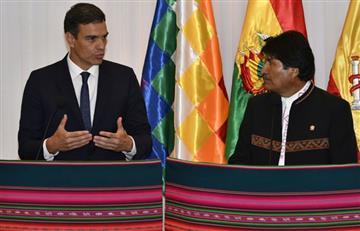 """España: """"Ninguna democracia puede rendir tributo al dictador"""" Franco, afirma Sánchez"""
