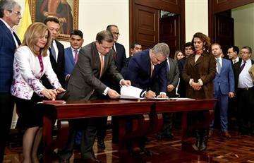 Iván Duque radica proyecto ley contra corrupción