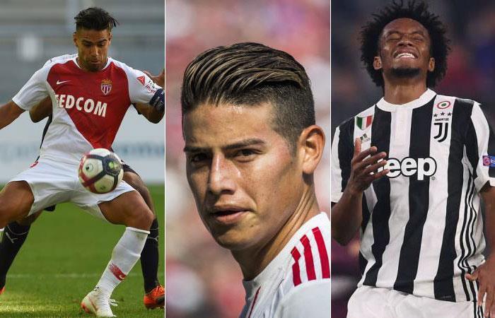 Champions League: Estos son los colombianos que participarán en el torneo