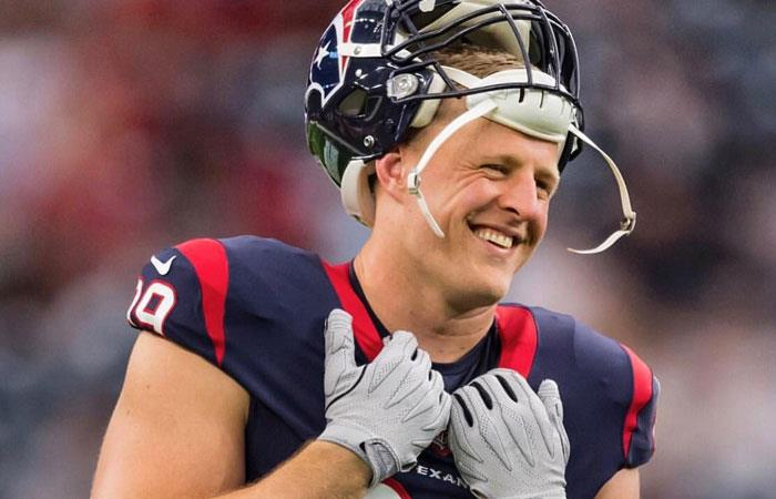 J.J Watt jugador estrella de los Houston Texans. Foto: twitter oficial @JJWatt