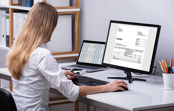 La facturación electrónica es un tema importante en Colombia. Foto: Shutterstock