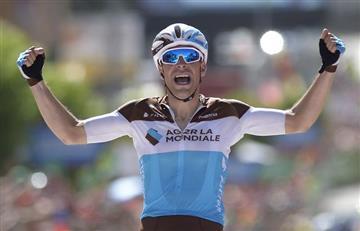 Vuelta a España: Tony Gallopin gana la etapa y Rigoberto Urán llega sexto