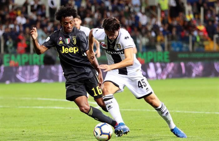 Con Cuadrado y Cristiano Ronaldo, Juventus derrotó a Parma