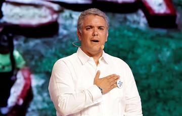 Duque pide que Colombia no asuma sola el esfuerzo del éxodo venezolano