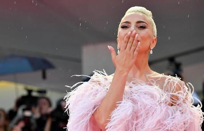 Un rayo interrumpió el estreno del filme de Lady Gaga en Venecia