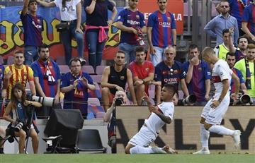 [VIDEO] Así fue el gol del 'cucho' Hernández a Barcelona
