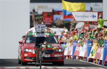 Vuelta a España: Benjamin King gana la etapa y Simon Yates es nuevo líder